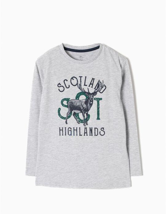 T-shirt Manga Comprida Highlands