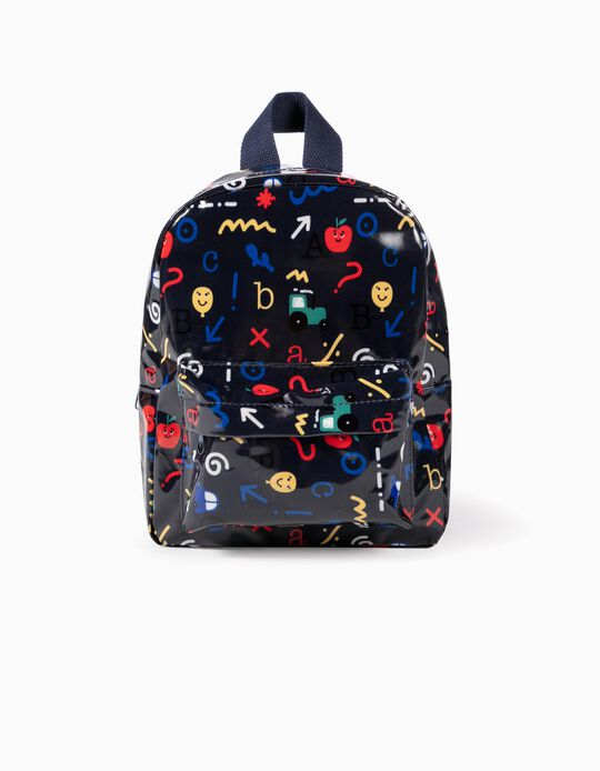 Backpack for Boys 'ABC', Dark Blue