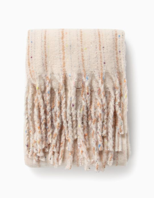 Striped, Shimmery Scarf