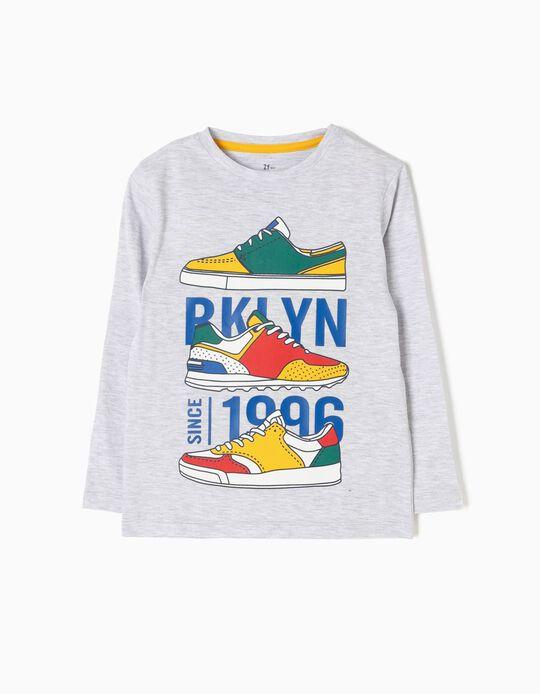 T-shirt Manga Comprida Sneakers