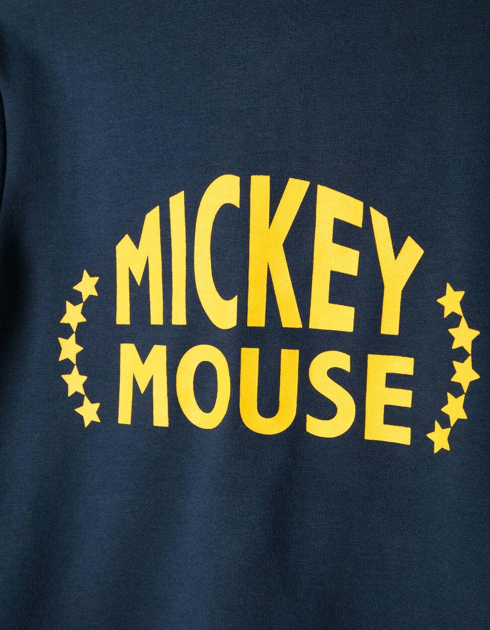 Casaco de Felpa com Capuz Mickey Azul