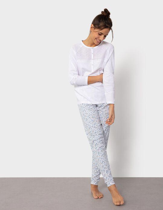 Pijama Floral para Mulher