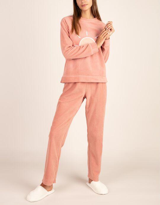 Conjunto de pijama polar .