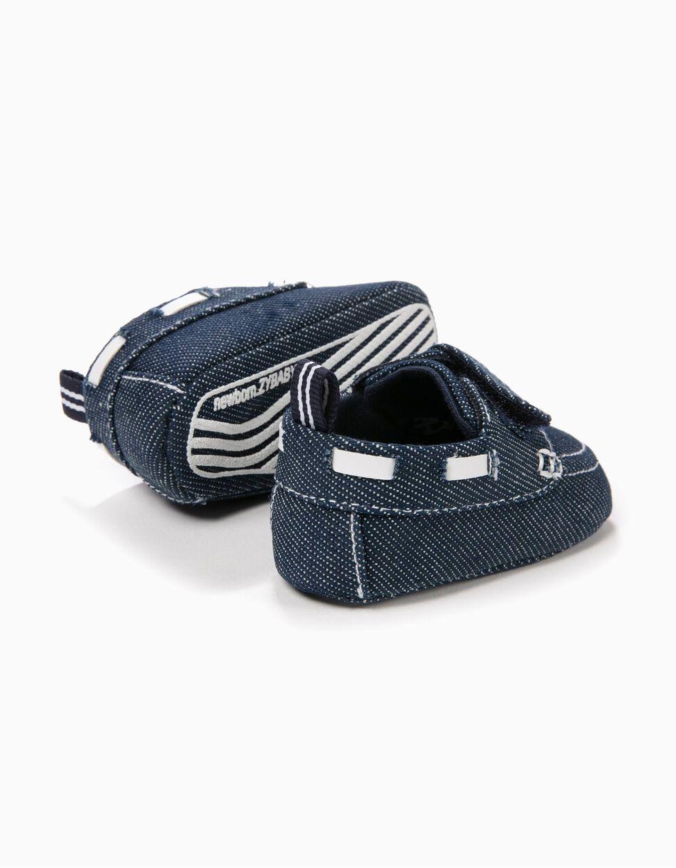 Sapatos Pre-Walker Ganga Cambraia