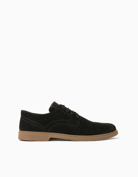 Suede Sports Shoes, Made in Portugal