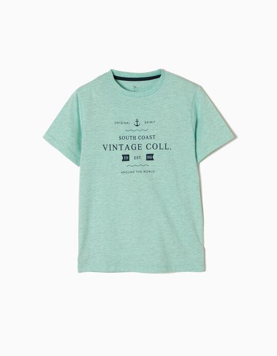 T-shirt Estampada Vintage