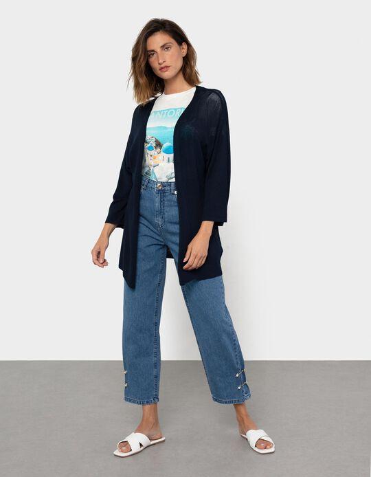 Fine Knit Cardigan, Women