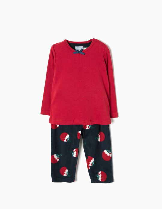 Pijama Natal Bebé Menina