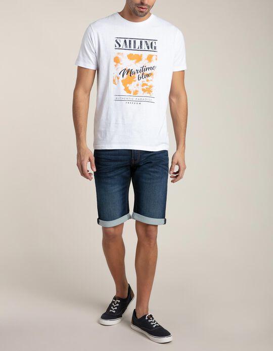 T-shirt Maritime Blue