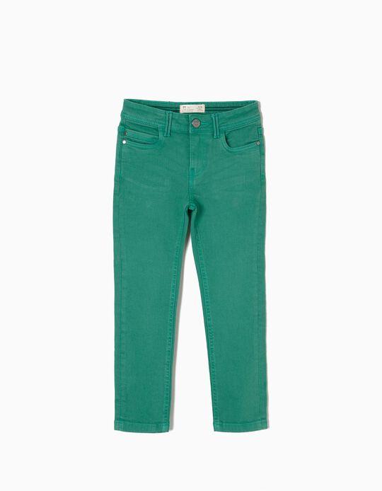 Calças Sarja Verde