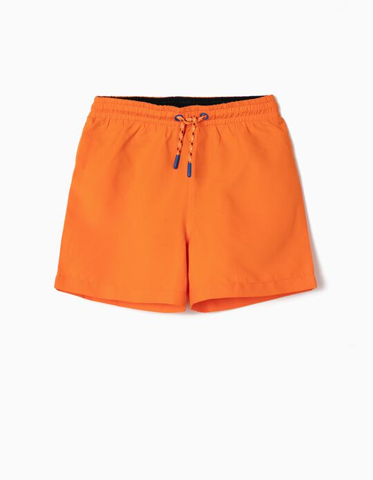 Plain Swim Shorts, for Boys