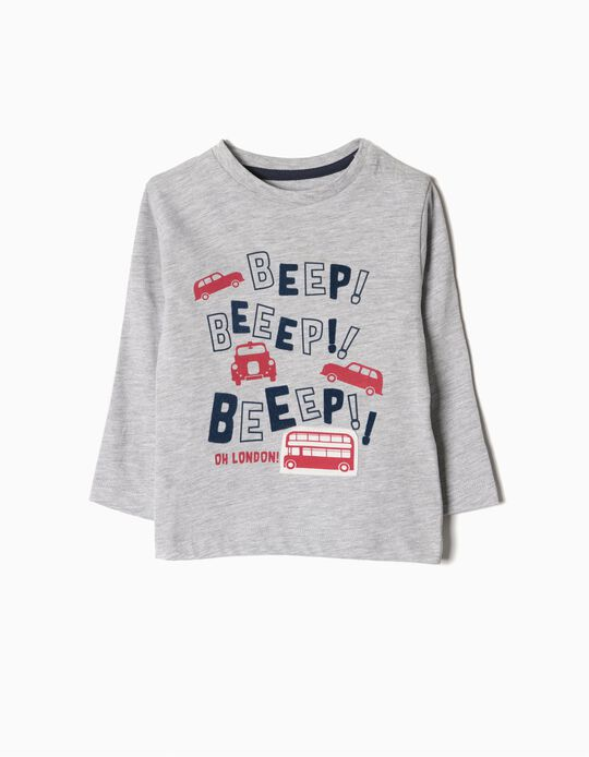 T-shirt manga comprida Beep! Beep!
