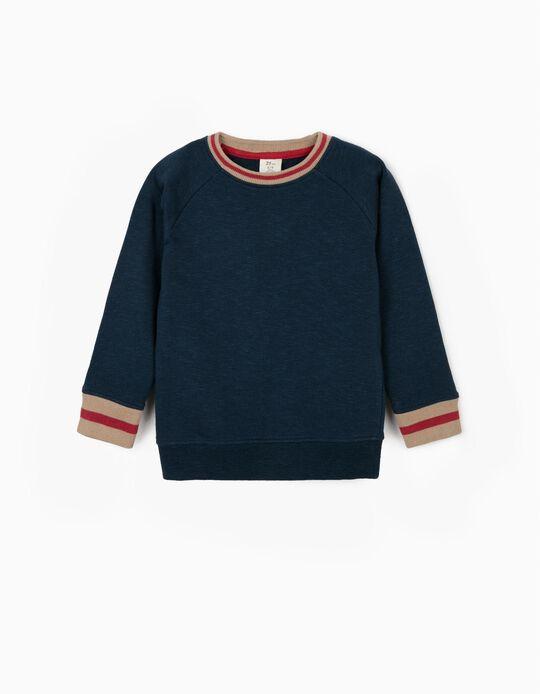 Sweatshirt for Boys, Blue