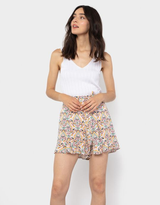 Fluid Shorts, Paisley
