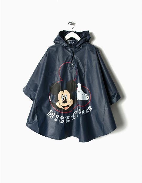 Poncho impermeável Mickey