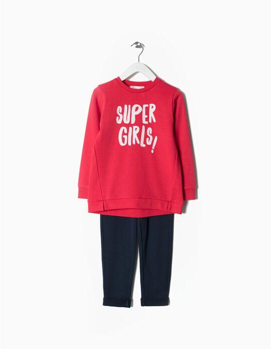 Fato de treino Super Girls