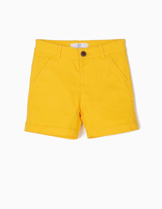 Shorts for Baby Boys, Yellow