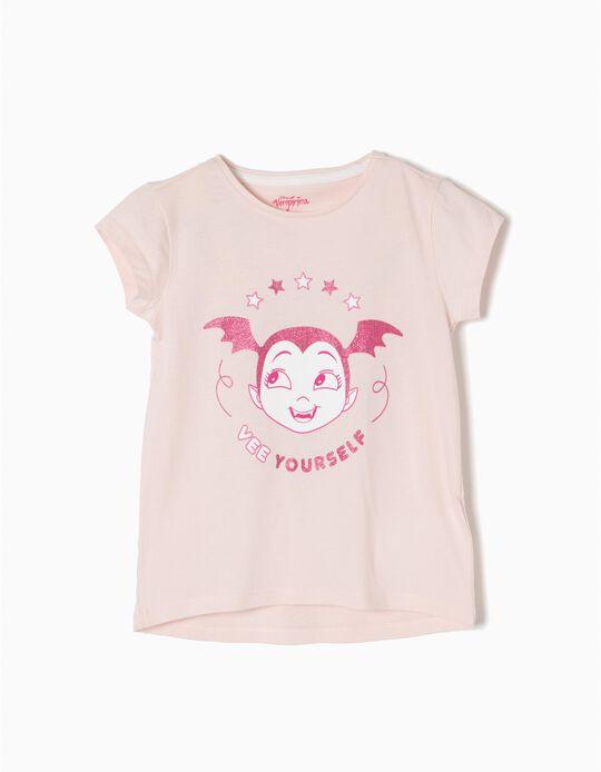 T-shirt Vampirina Rosa