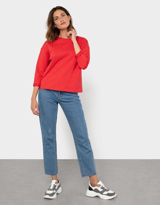 Soft Sweatshirt, Red