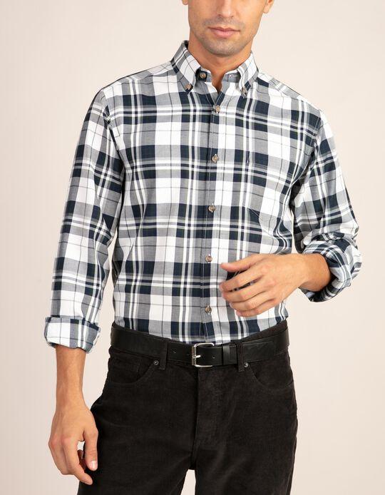 Camisa em tartan da gama Essentials