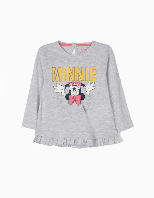 T-shirt de Manga Comprida Minnie Legs in the Air