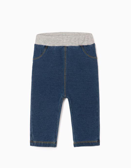 Jeggings for Newborns 'Comfort Denim', Blue
