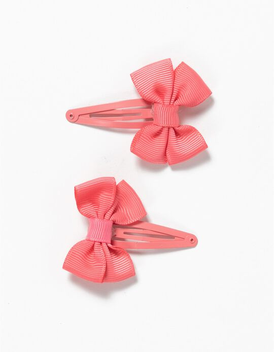 Pack of 2 Clips, Bow