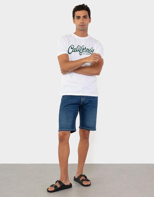 Denim Shorts, Slim Leg