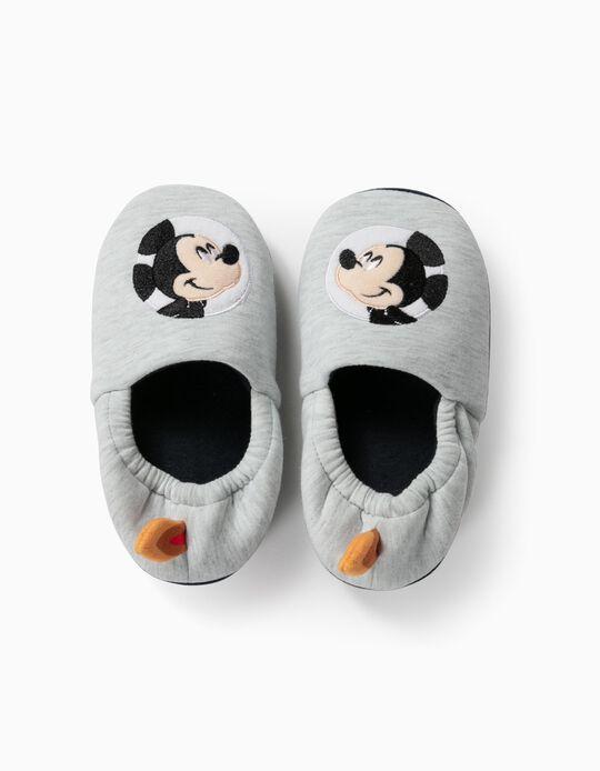 Pantufas para Menino 'Mickey Astronaut', Cinza