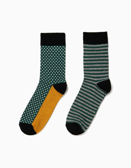 Pack of 2 Pairs of Assorted Socks