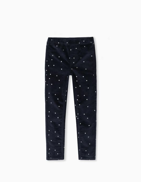 Dotted Trousers, Girls, Dark Blue
