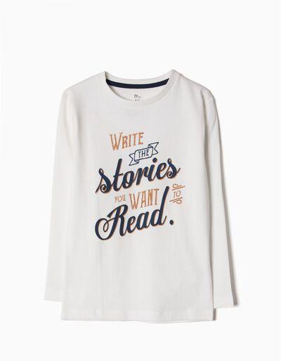 T-shirt Manga Comprida Stories
