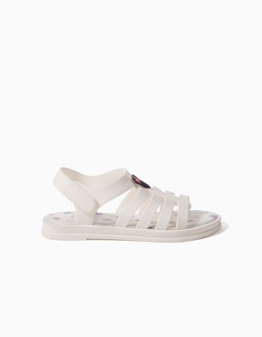 Sandálias Brancas Minnie