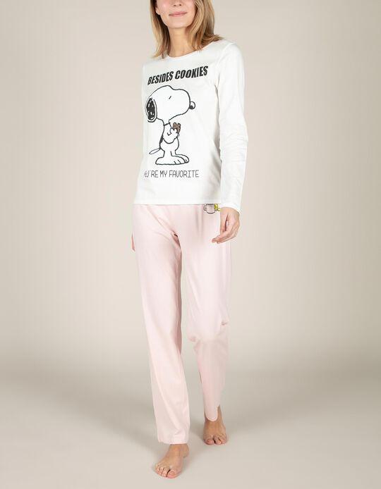 Pijama bicolor Snoopy