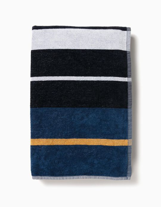TOWEL STRIP CREME DE, DARK BLUE14, ÚNICO