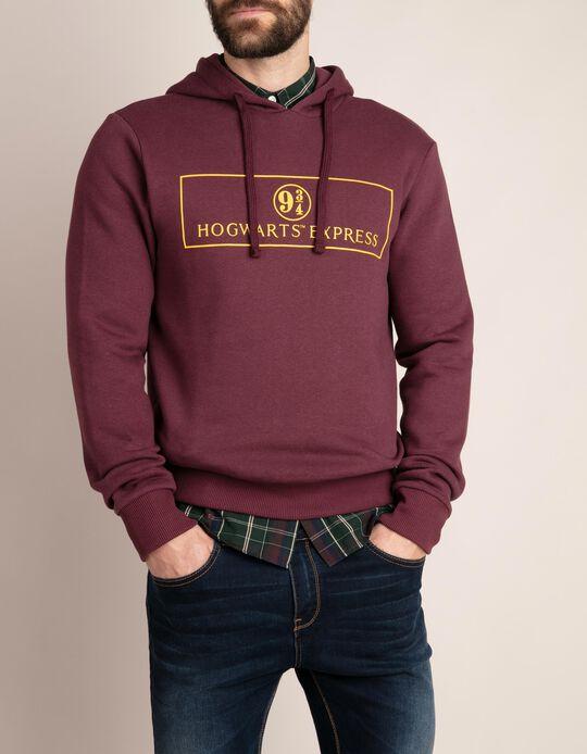 Sweatshirt Com Capuz Hogwarts