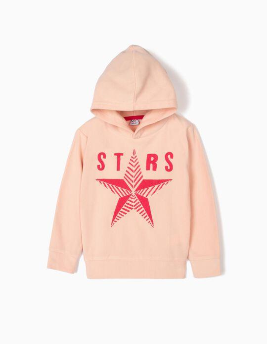 Sweatshirt com Capuz 'Star'