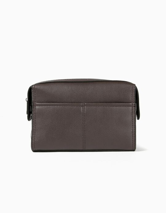 Toiletry Bag in Synthetic Leather