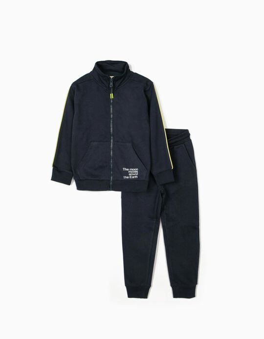 Tracksuit for Boys 'Moon', Dark Blue
