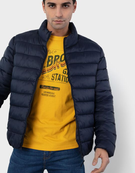 Padded Jacket for Men, Cropped
