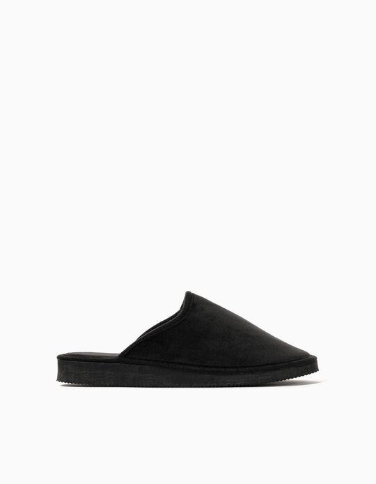 Bedroom Slippers for Women, Black