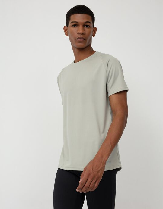 Basic Sports T-shirt, Men, Grey