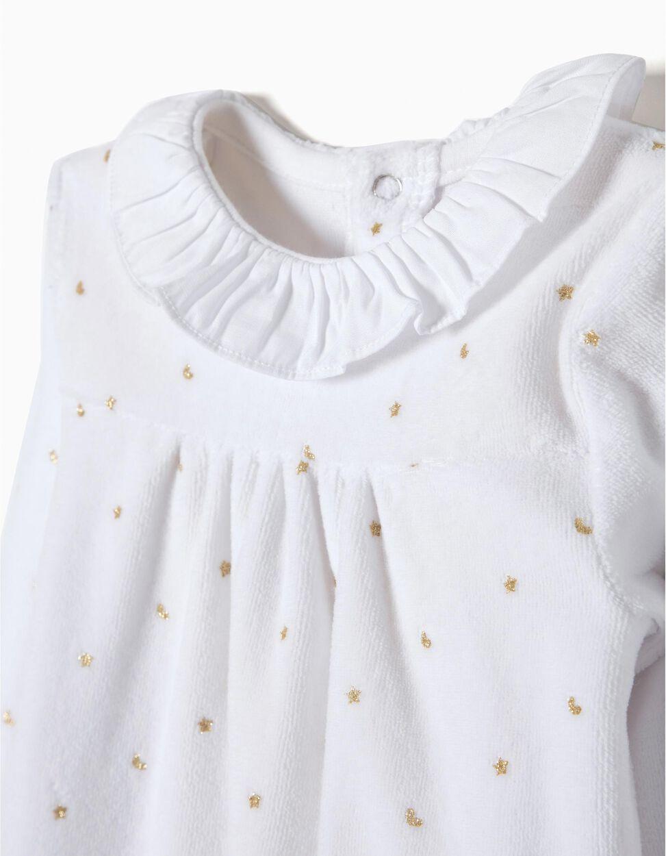 Babygrow Veludo Glitter