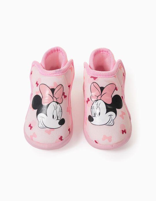 Pantufas para Bebé Menina 'Minnie', Rosa