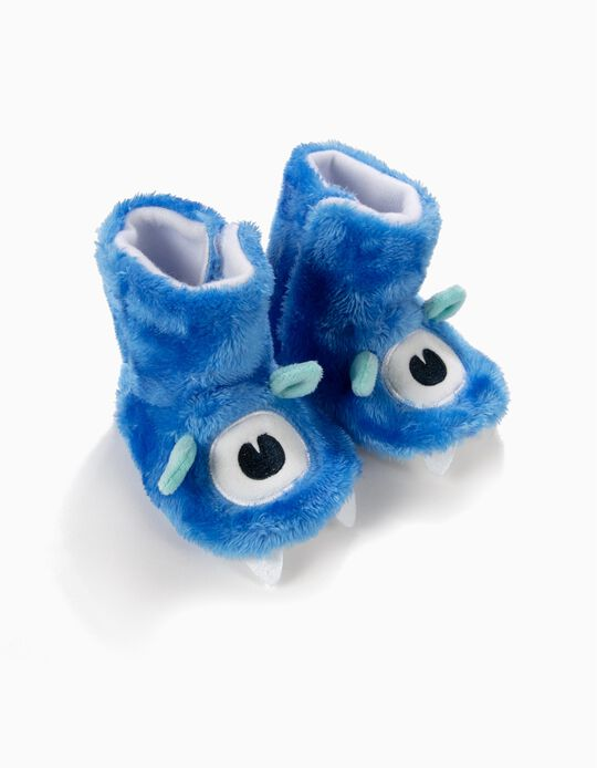Pantufas Fantasia Little Monster Azuis