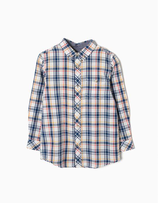Camisa Xadrez Algodão