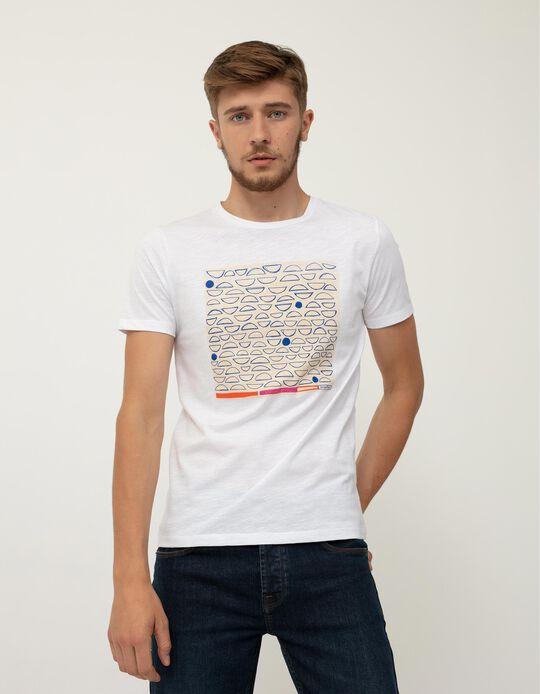 Support T-shirt, Men, White