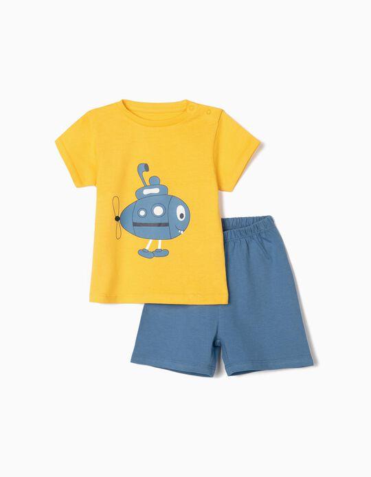 Pyjamas for Baby Boys, 'Submarine'