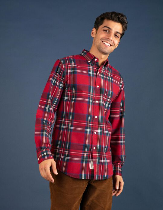 Camisa Oxford regular fit natalícia