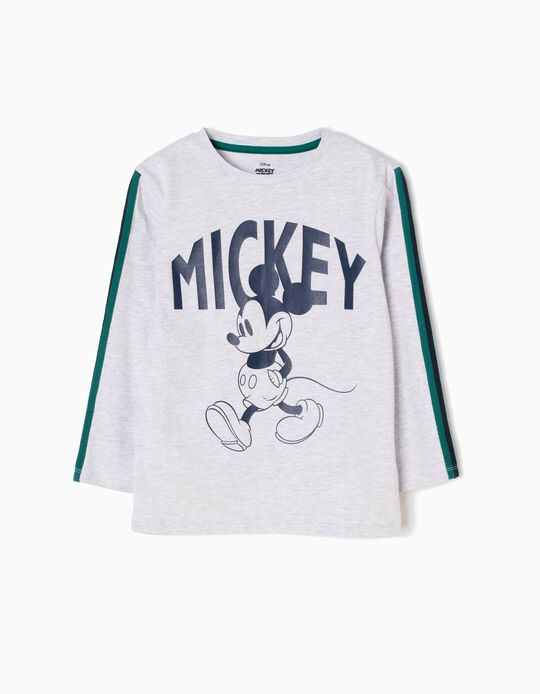 T-shirt Manga Comprida Mickey Walking